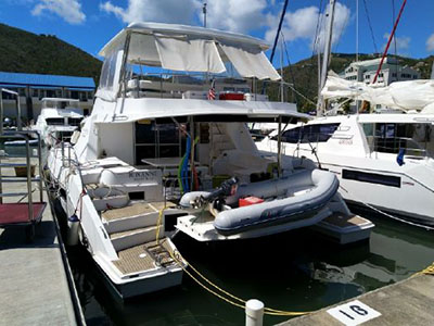 Used Power Catamarans for Sale 2016 Leopard 51PC