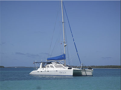 Catamarans LOST CAT, Manufacturer: VOYAGE YACHTS, Model Year: 1999, Length: 42ft, Model: Norseman 430, Condition: Used, Status: Catamaran for Sale, Price: USD 265000