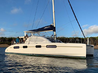 Used Sail Catamaran for Sale 2012 Leopard 46