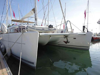 Used Sail Catamaran for Sale 2012 Lagoon 620