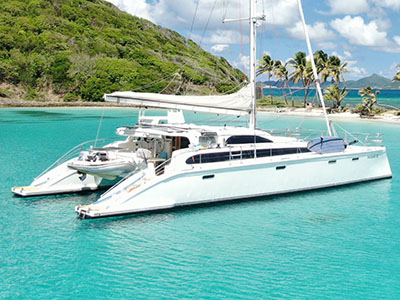 Used Sail Catamaran for Sale 2009 Perry 63 Prestige Motor Sailer
