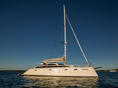 Used Sail Catamarans for Sale 2008 Perry 63 Prestige Motor Sailer
