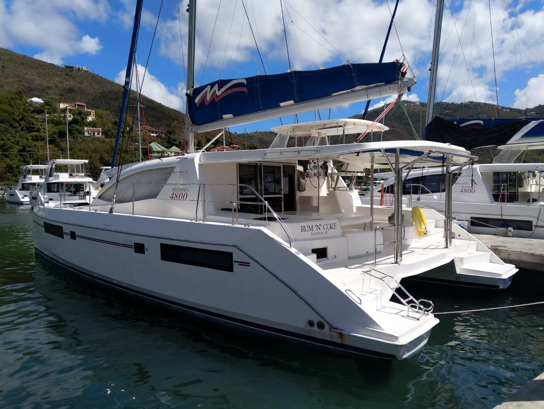 Used Sail Catamaran for Sale 2013 Leopard 48