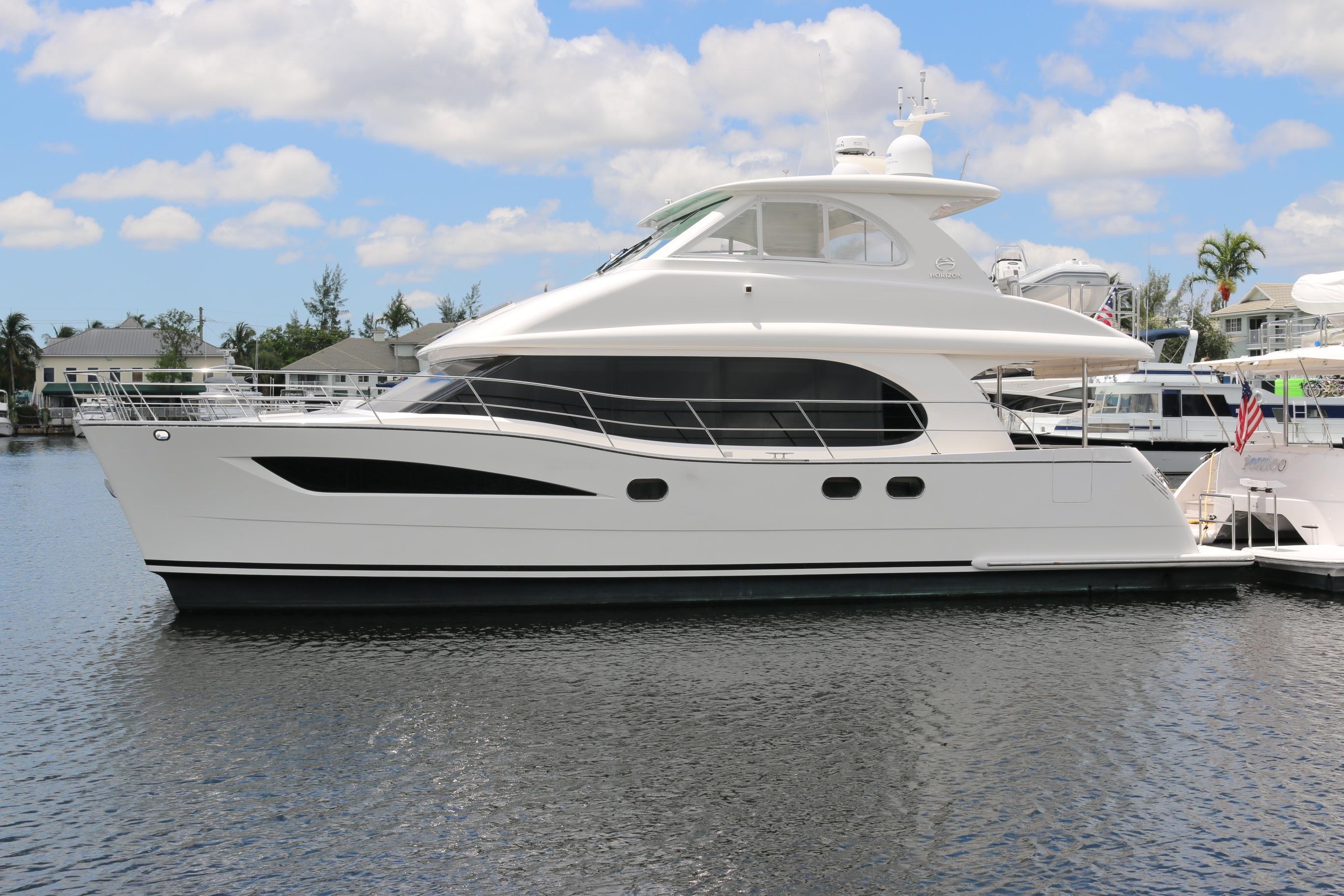 Used Power Catamaran for Sale 2015 Horizon PC52