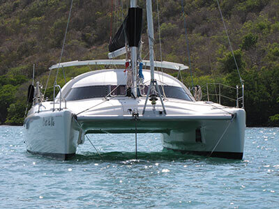 Used Sail Catamarans for Sale 1992 Antigua Maestro 37