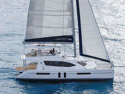 Used Sail Catamaran for Sale 2013 Leopard 58