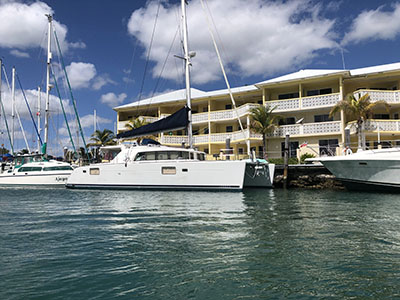 Used Sail Catamaran for Sale 2007 Lagoon 440F T54