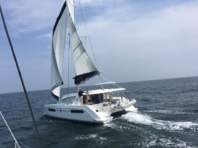 Used Sail Catamarans for Sale 2017 Leopard 40
