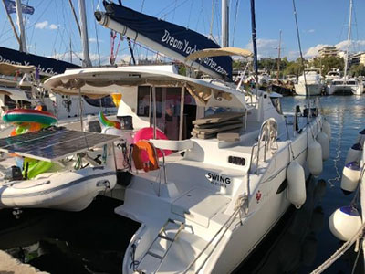 Used Sail Catamaran for Sale 2010 Lipari 41