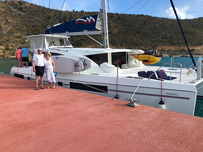 Used Sail Catamaran for Sale 2014 Leopard 48