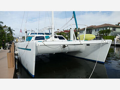 Used Sail Catamaran for Sale 1999 Custom