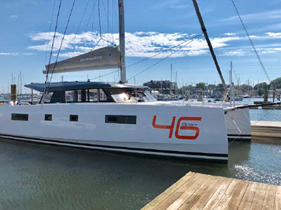 Used Sail Catamaran for Sale 2017 Nautitech 46 Open