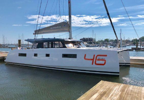 Used Sail Catamaran for Sale 2017 Nautitech 46 Open