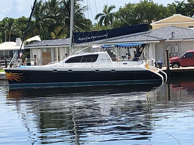 Used Sail Catamaran for Sale 2001 Leopard 4500