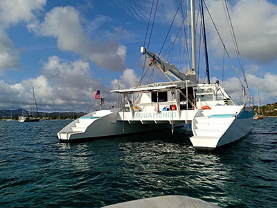 Used Sail Catamaran for Sale 2009 Sourisse
