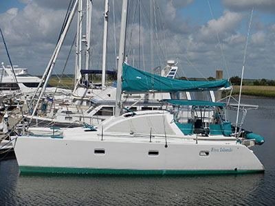 Used Sail Catamarans for Sale 1997 Lagoon 37 TPI