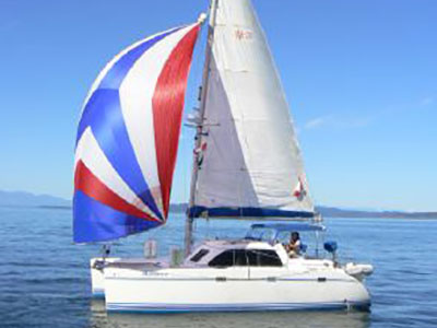 Used Sail Catamarans for Sale 1996 Lagoon 35CCC
