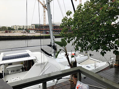 Used Sail Catamaran for Sale 1993 Privilege 43