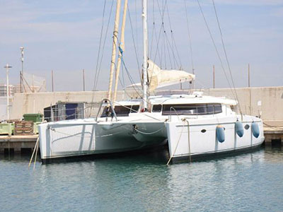 Used Sail Catamaran for Sale 2012 Galathea 65