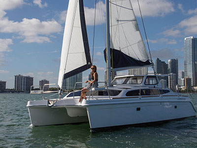 New Sail Catamarans for Sale 2019 Legacy 35x