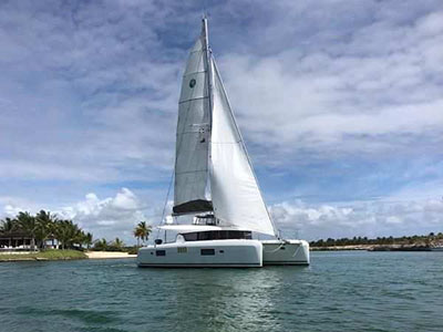 Used Sail Catamaran for Sale 2017 Lagoon 42