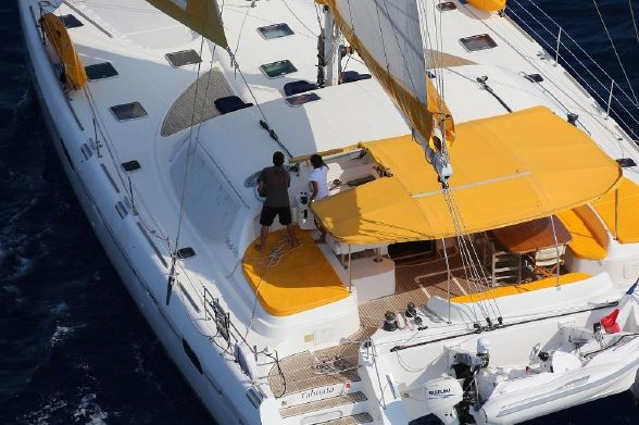 Used Sail Catamarans for Sale 2006 Privilege 585