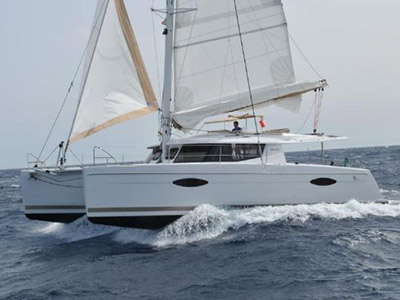 Catamarans POLARIS, Manufacturer: FOUNTAINE PAJOT , Model Year: 2014, Length: 43ft, Model: Helia 44, Condition: Used, Listing Status: Under Offer, Price: USD 557000