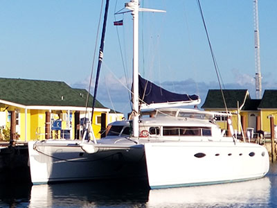 Used Sail Catamaran for Sale 2006 Eleuthera 60