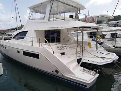Used Power Catamarans for Sale 2014 Leopard 51PC