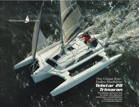 Used Sail Trimaran for Sale 2010 Telstar 28