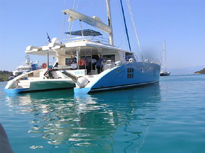 Used Sail Catamaran for Sale 2009 Sunreef 70
