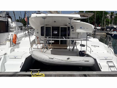 Used Sail Catamaran for Sale 2012 Mahe 36