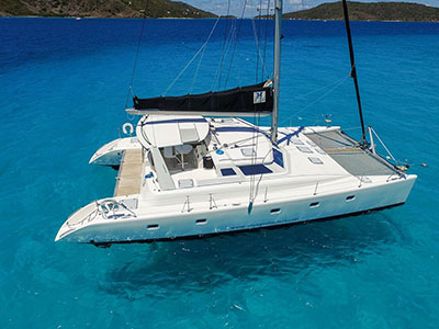 Catamarans LADY ALEXANDRIA, Manufacturer: VOYAGE YACHTS, Model Year: 2000, Length: 48ft, Model: Voyage 500, Condition: Used, Listing Status: Catamaran for Sale, Price: USD 317000