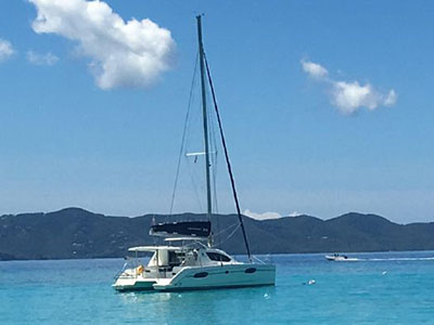 Used Sail Catamarans for Sale 2014 Leopard 39