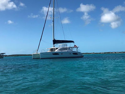 Used Sail Catamaran for Sale 2016 Leopard 44