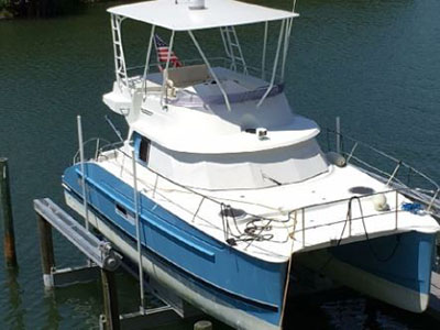 Used Power Catamaran for Sale 2006 Highland 35