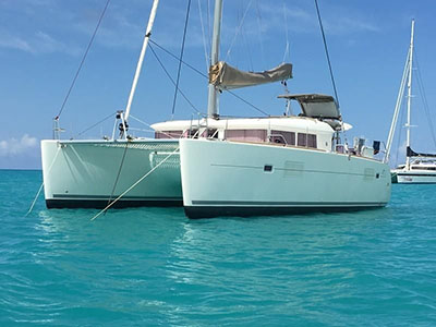 Used Sail Catamaran for Sale 2013 Lagoon 400