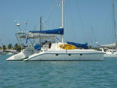 Used Sail Catamarans for Sale 2001 Manta 42
