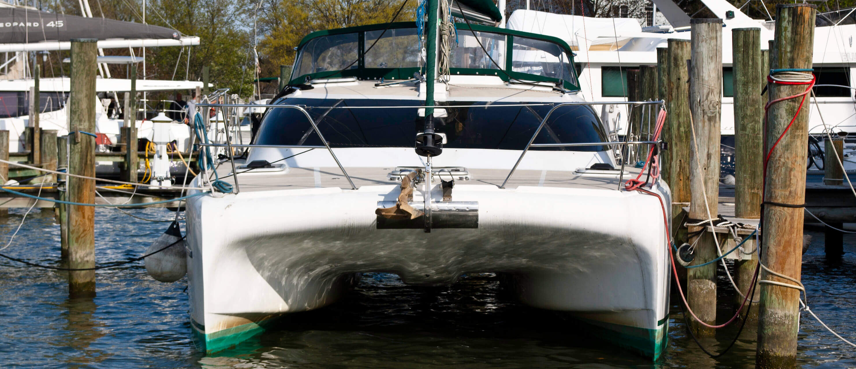 Used Sail Catamarans for Sale 2001 Victory 35
