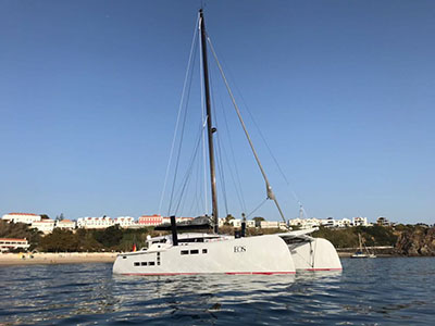 Used Sail Catamarans for Sale 2018 Custom 63