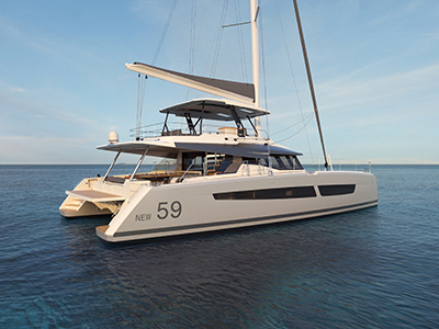 Power Catamarans for Sale 2021 Fountaine Pajot 59