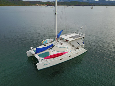 Catamarans SHANTI, Manufacturer: MANTA, Model Year: 1998, Length: 39ft, Model: Manta 40, Condition: Used, Listing Status: Catamaran for Sale, Price: USD 249000