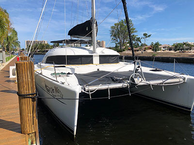 Used Sail Catamaran for Sale 2000 Lagoon 380