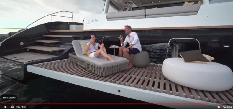 Lagoon SEVENTY 7 Sailing Yacht | Video | On Display During Miami Boat Show