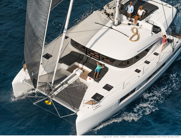 New Lagoon 50 For Sale.  Located Fort Lauderdale.
