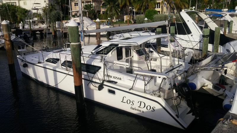 Fully Loaded 34 Ft. Gemini 105 MC For Sale. Water Maker . AC/GEN and more!