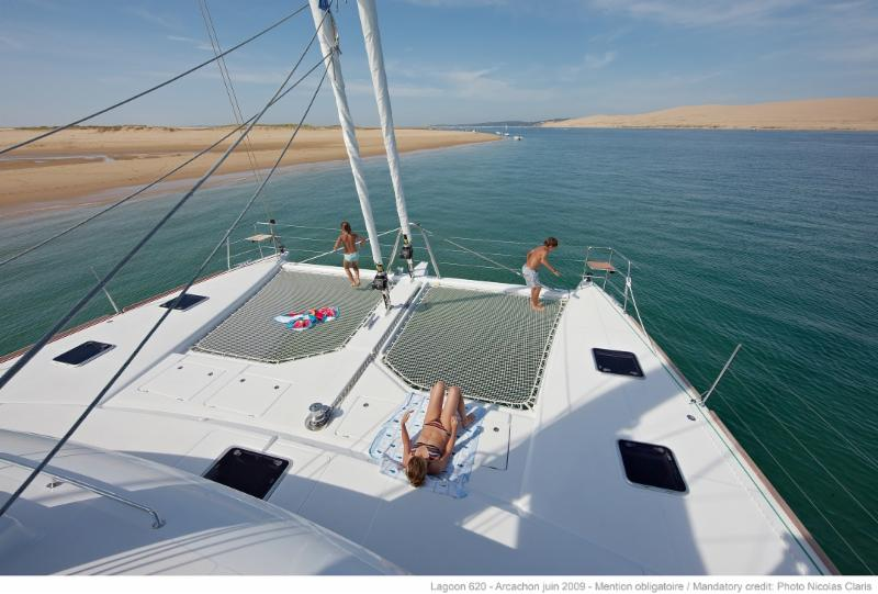 Sailing on Luxury Catamaran.  $4,200 per Cabin for Two.