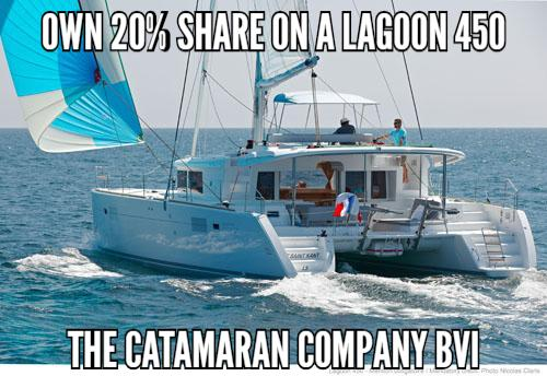 Buy 20% Share and Join Partners aboard 2020 Lagoon 450 F