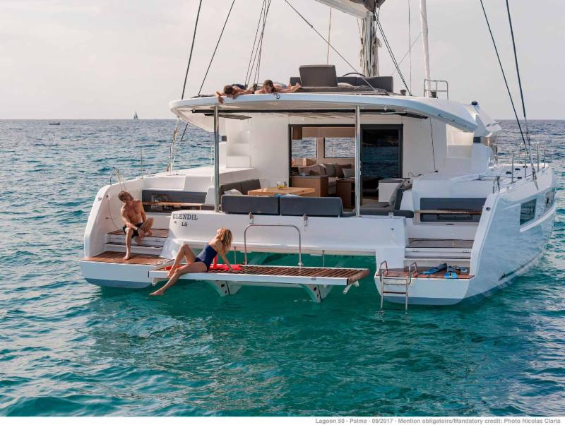 6 Cabin-13 Guest -New Lagoon 50 Open March 2 March 9 in BVI