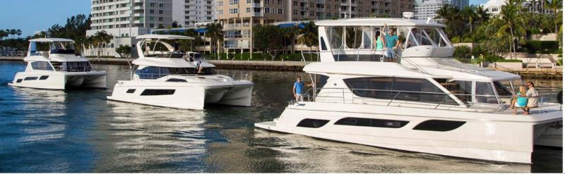 Three Aquila Power Catamarans For Sale in Florida: 38 and 44